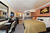1 Queen Bed Whirlpool Suite at Americas Best Vallue Inn & Suites San Francisco Airport